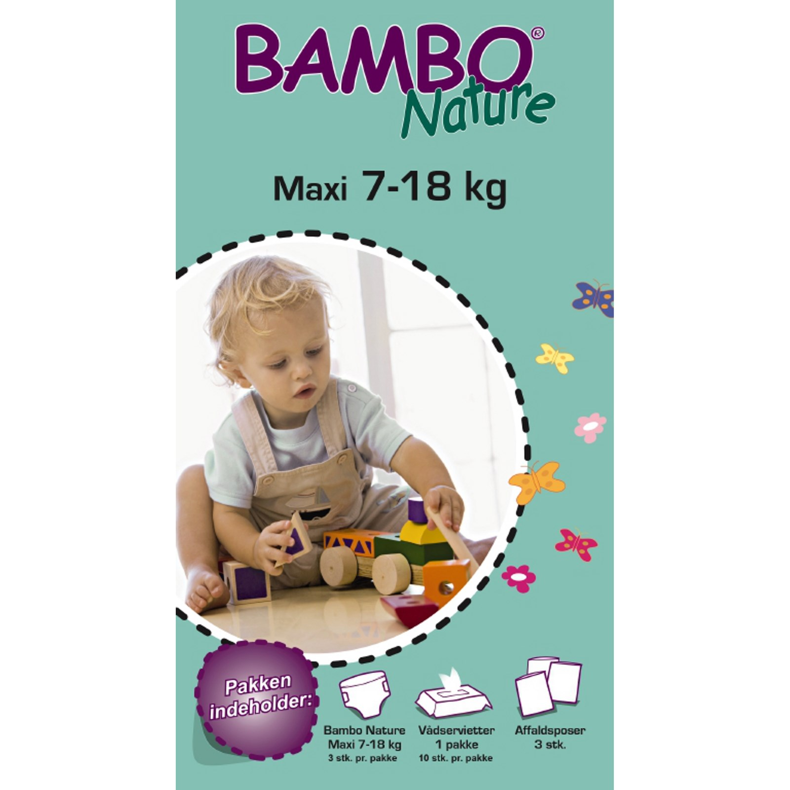 Bambo Nature Nappies Size 4