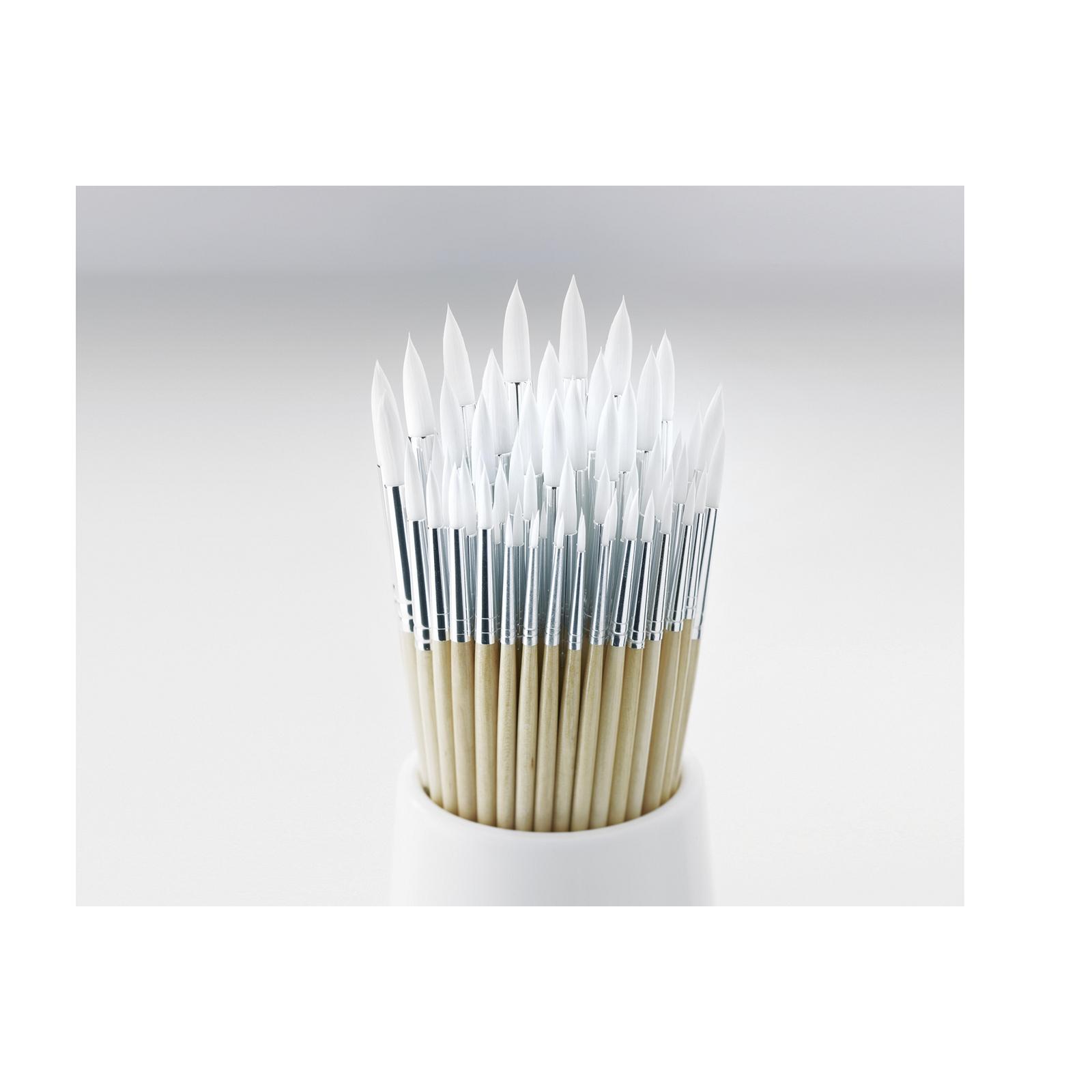 Essential Round Synthetic Brush Bulk Pack - Short Handled