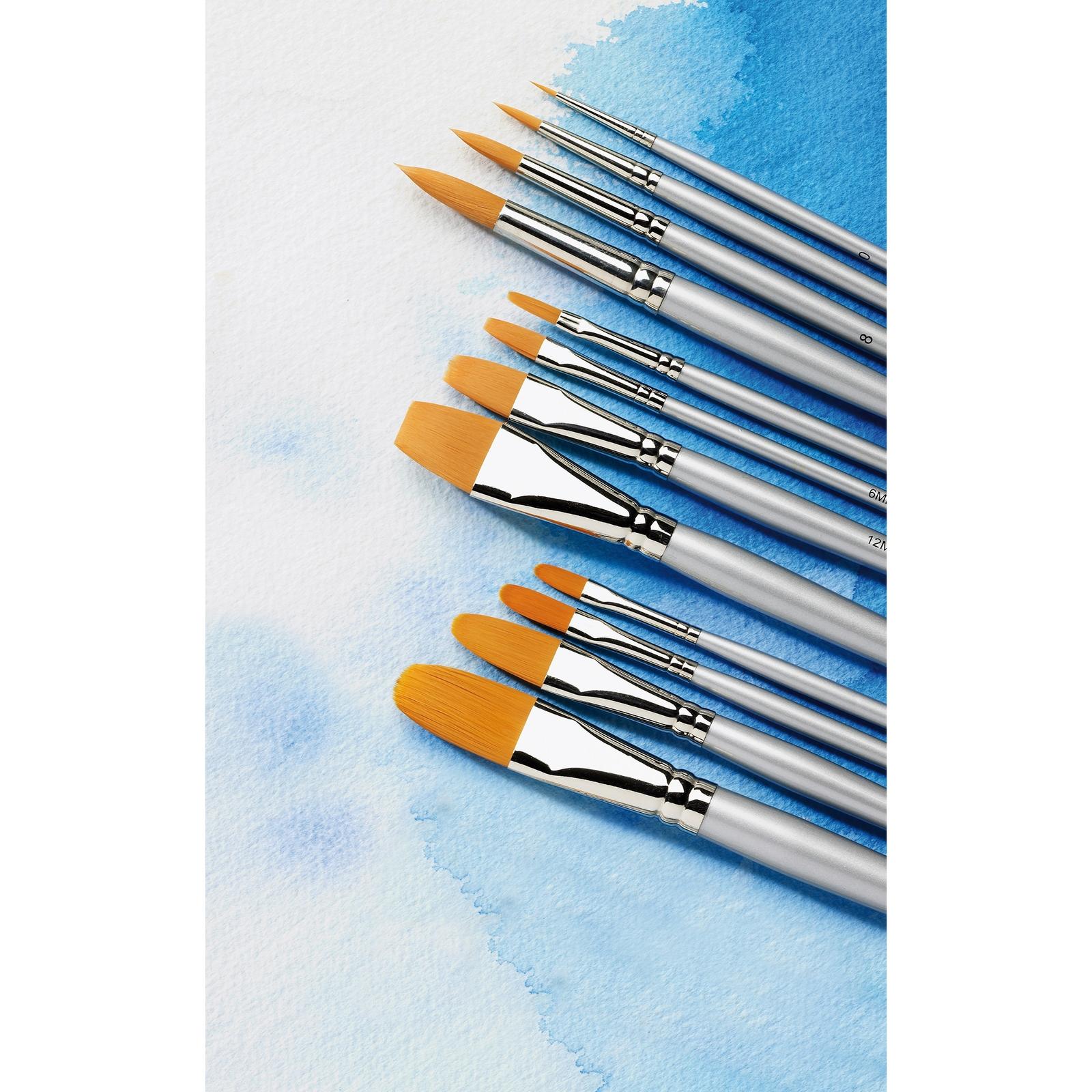 Student Round Watercolour Brush Set