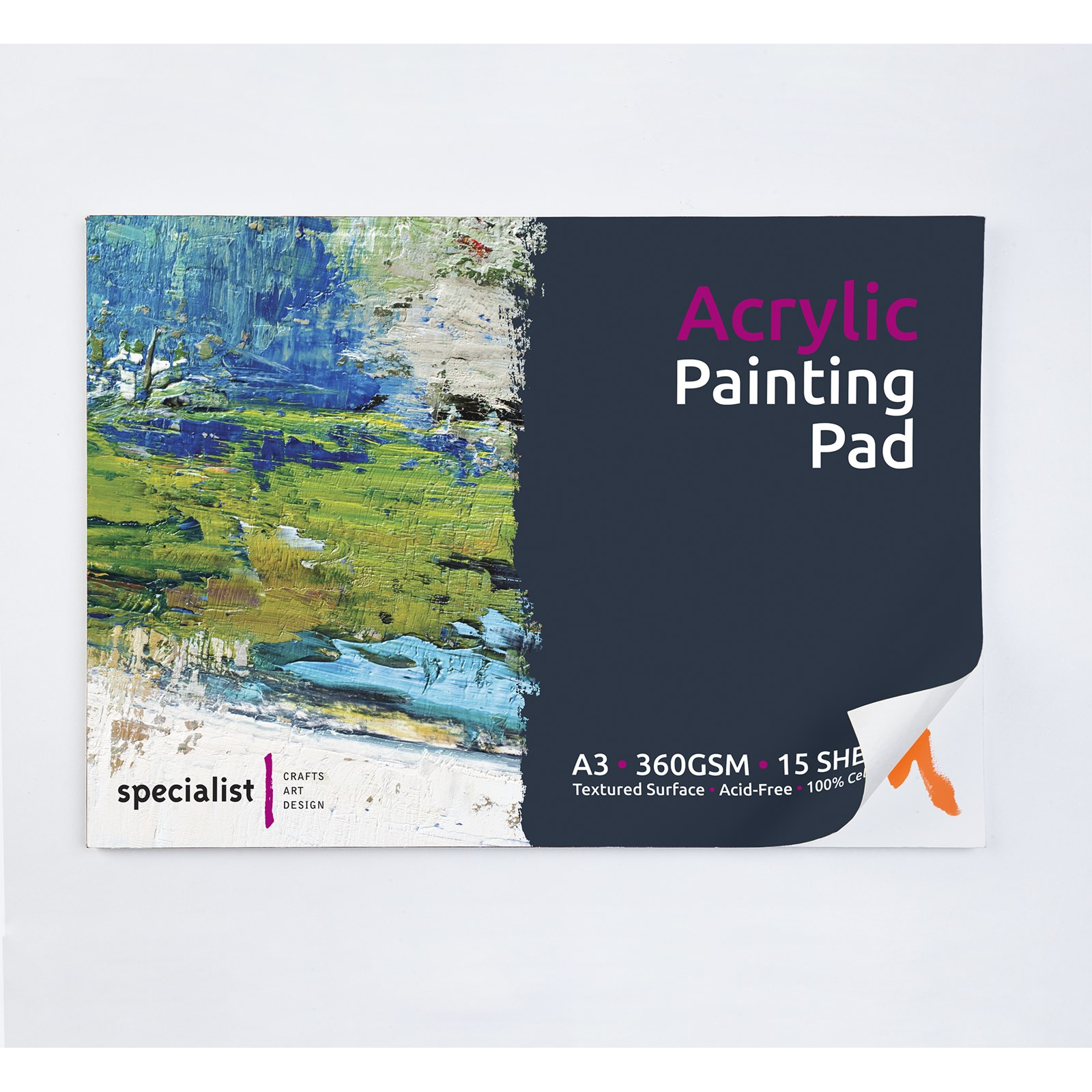 Specialist Crafts Acrylic Painting Pad