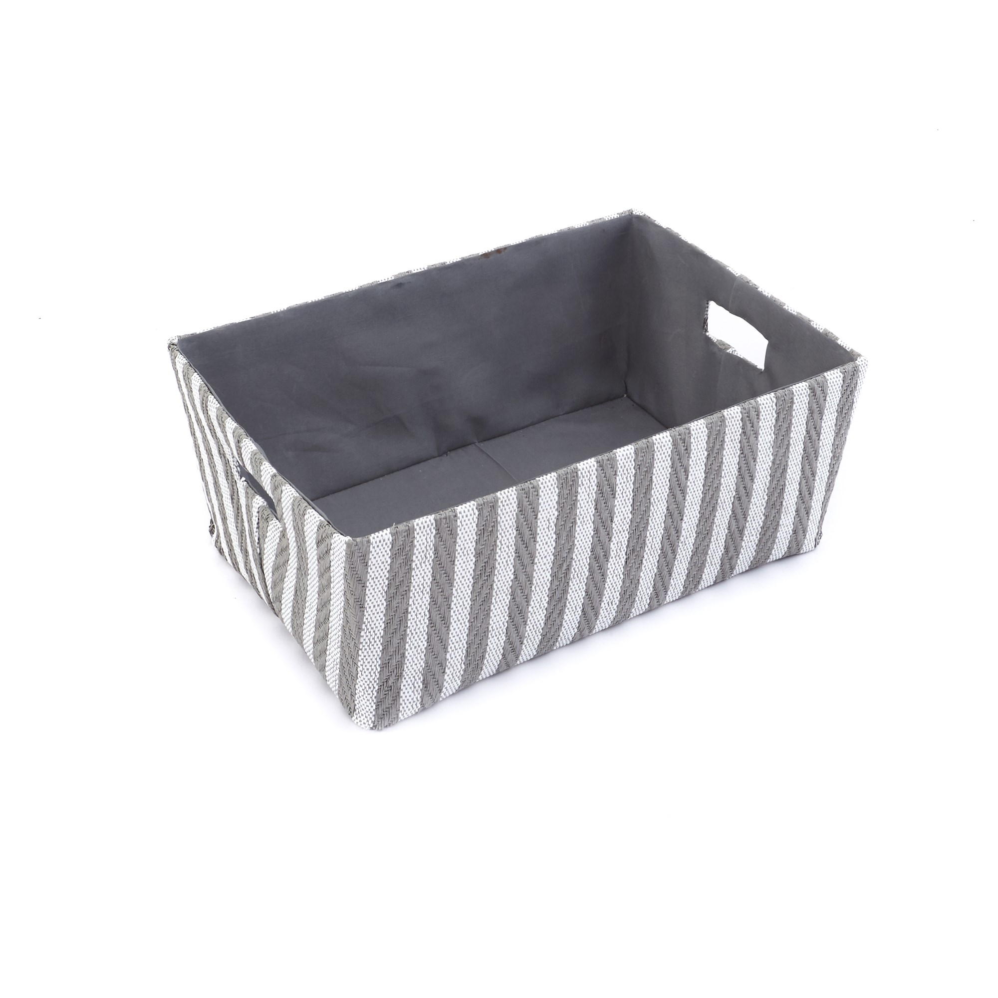 Stripe Fabric Paper Storage Box