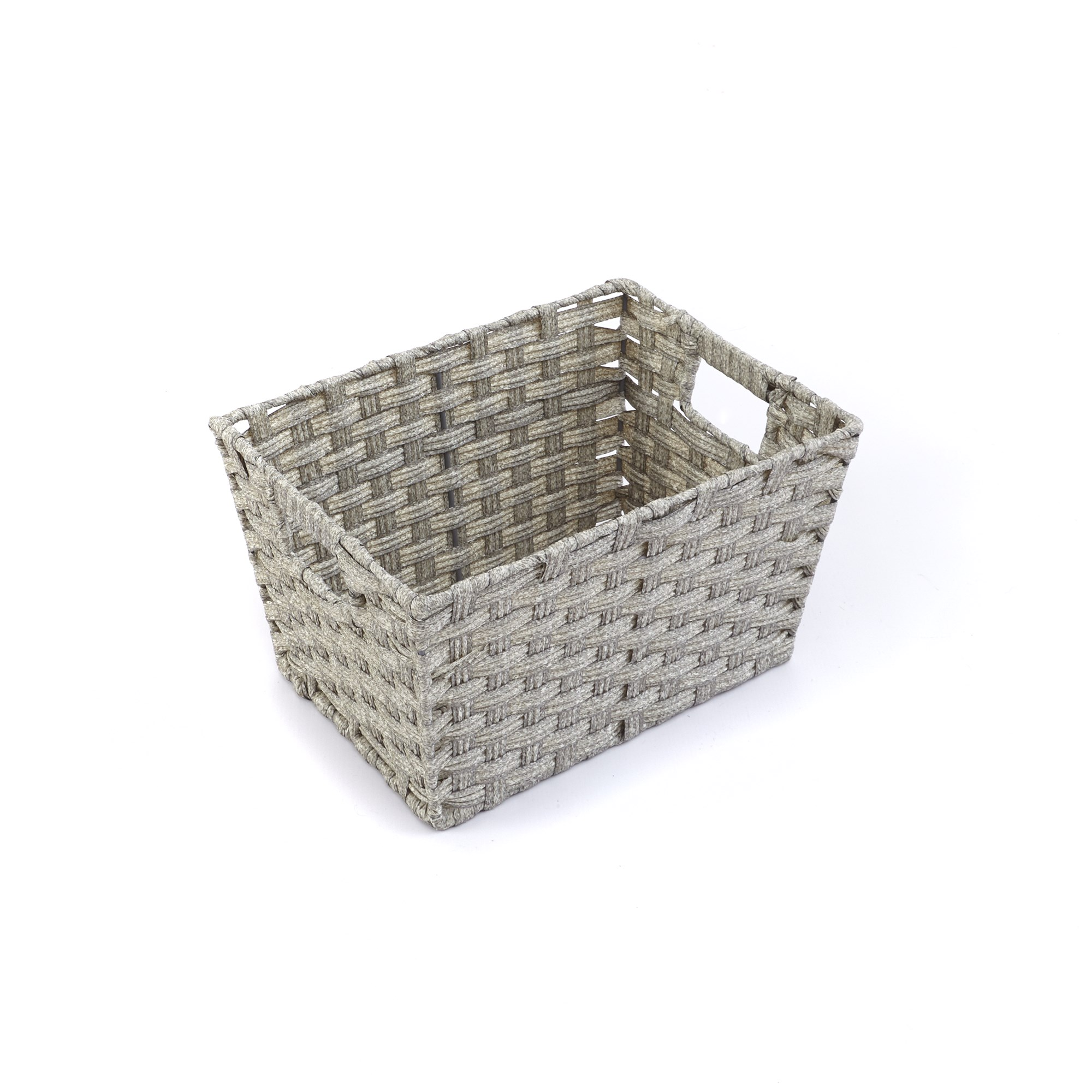 Faux Rattan Baskets (Pack of 12)
