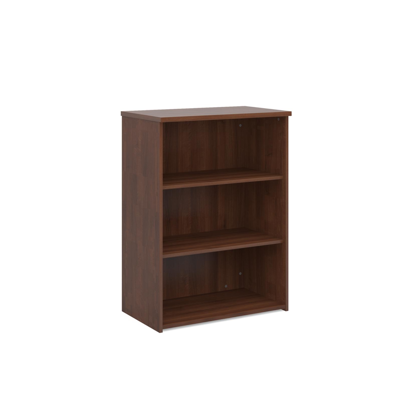 Walnut Bookcase H1090mm