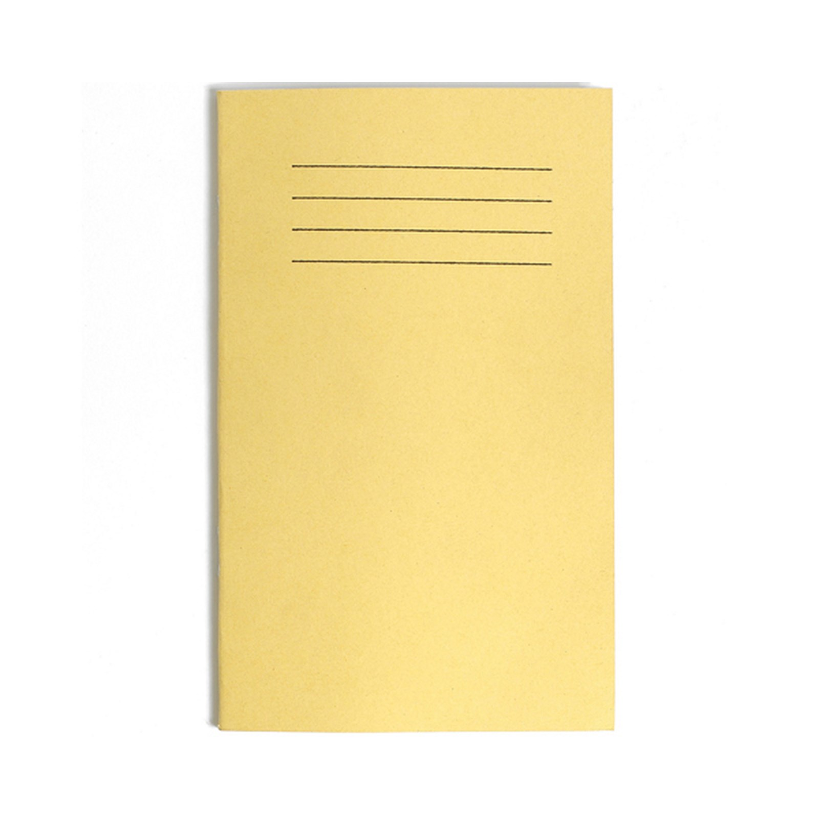 Vocabulary Book, 48 Pages, 7mm Ruled with Margin, Yellow Cover - Pack of 100