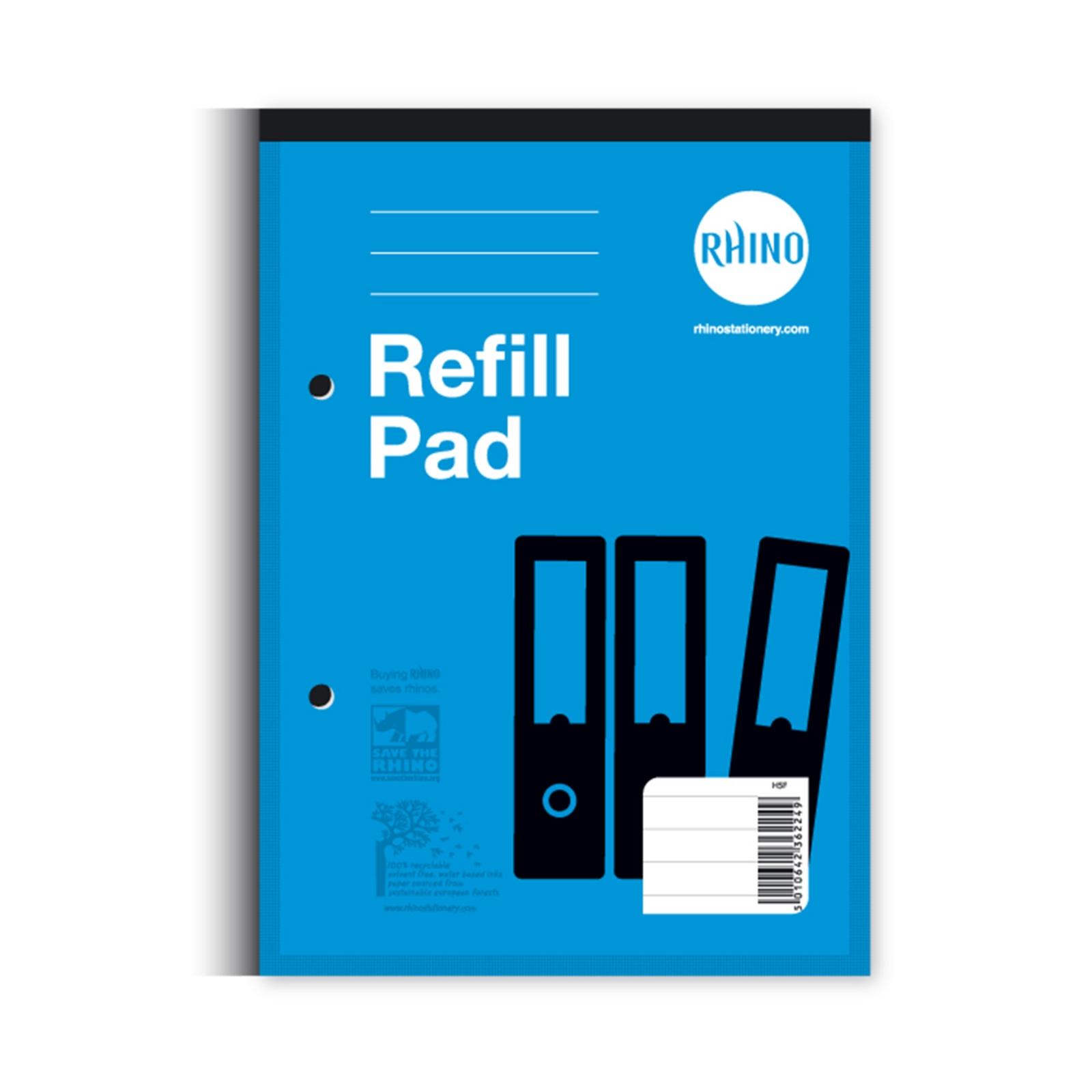 Refill Pads A5 60p 8mm Margin Blue P6