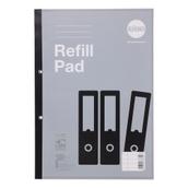 Refill Pads A4 200p 8mm Margin Red P5