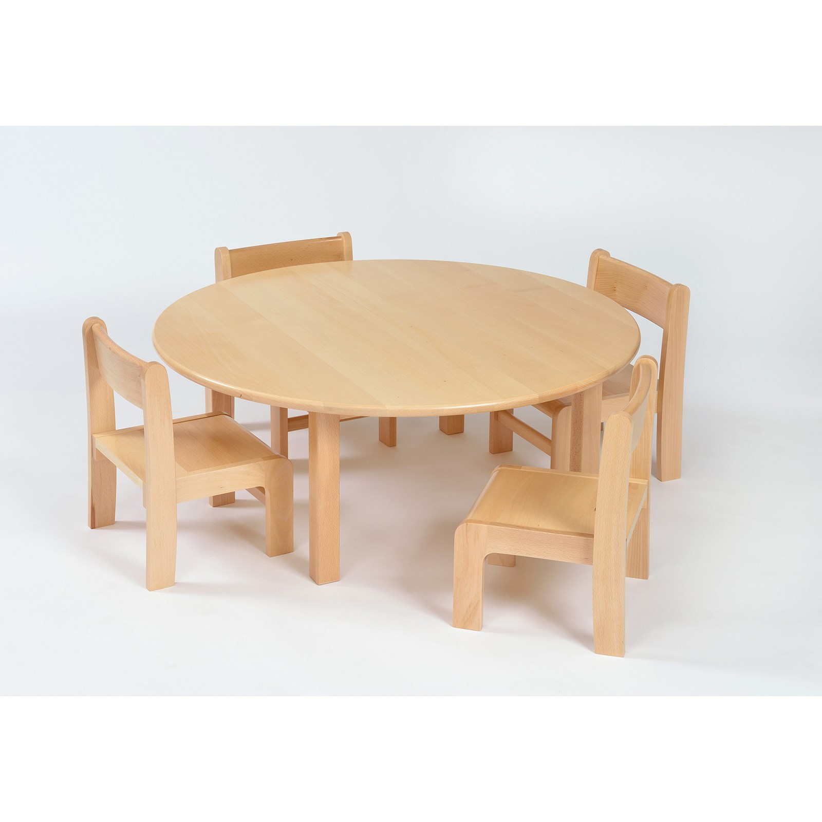 Galt Circ Table 4 Chairs - 3-4 Yr Olds