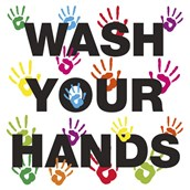 Wash Your Hands 200 x 200mm S A Poster