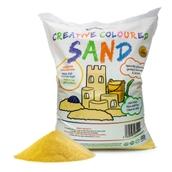 Coloured Sand - Yellow 15kg Bag