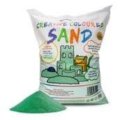 Coloured Sand - Green 15kg Bag