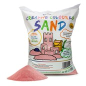 Coloured Sand - Pink 15kg Bag