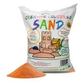 Coloured Sand - Orange 15kg Bag