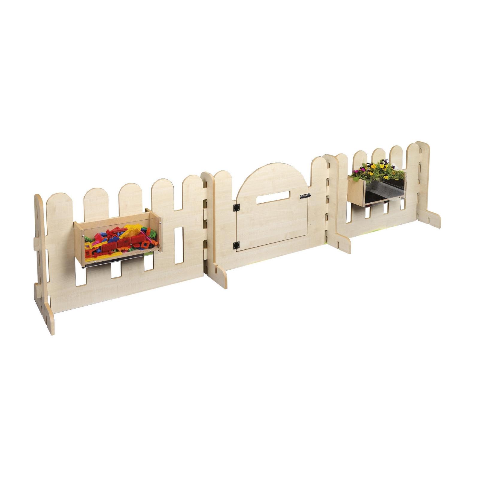 Indoor Fence Panel & Gate Set