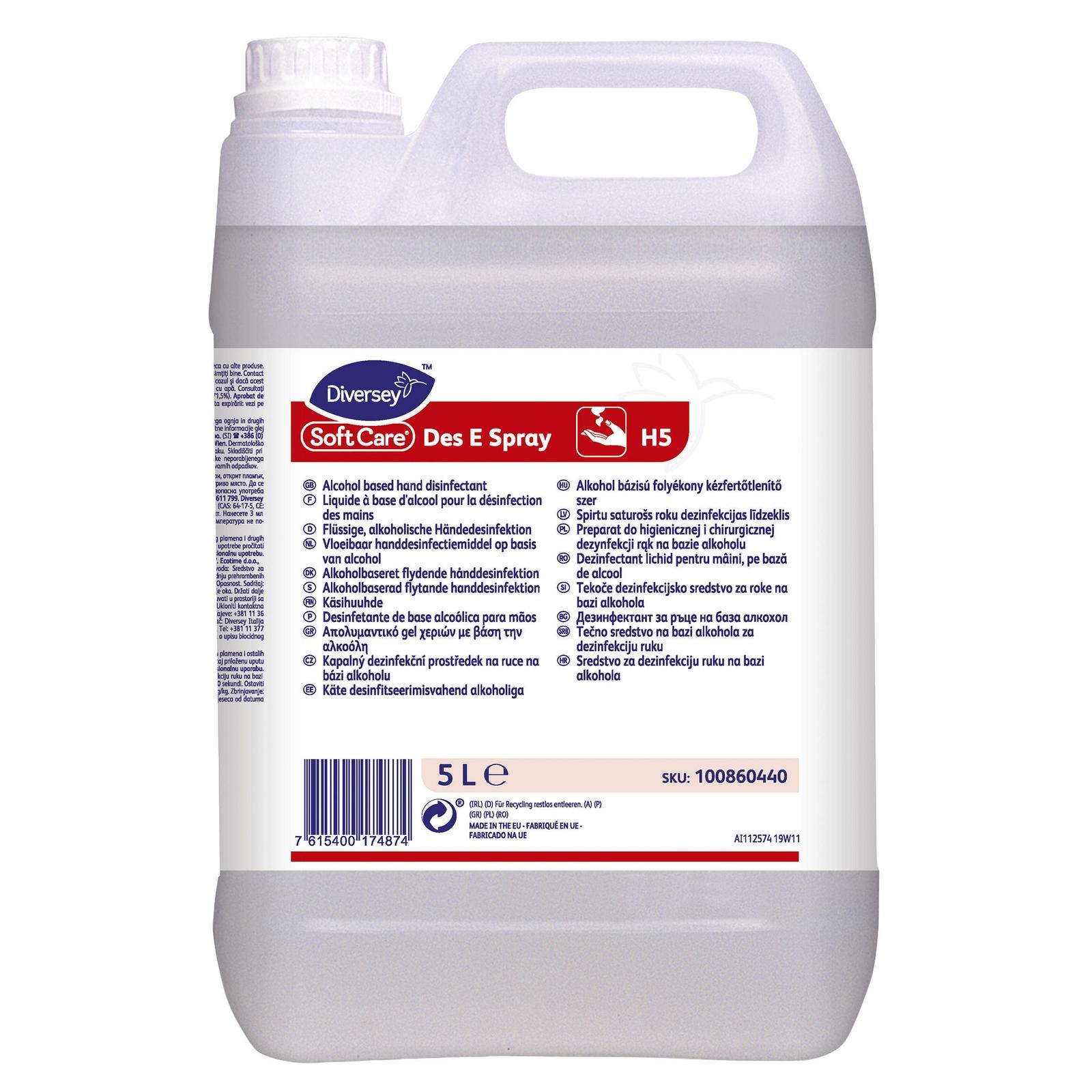 Soft Care Des E Spray H5 2x5L