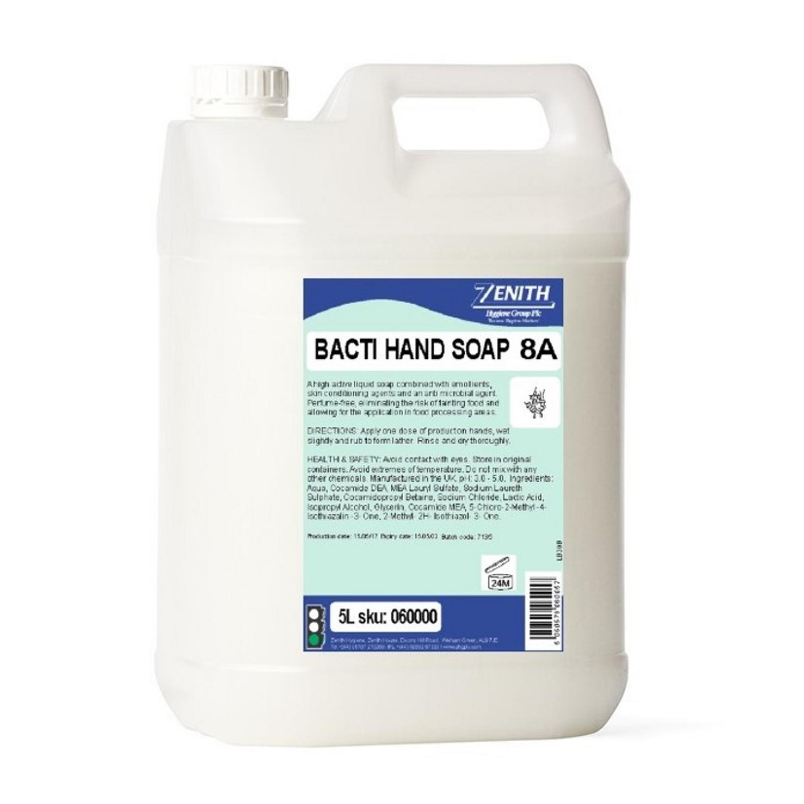 8a Bacti Hand Soap 2x5l