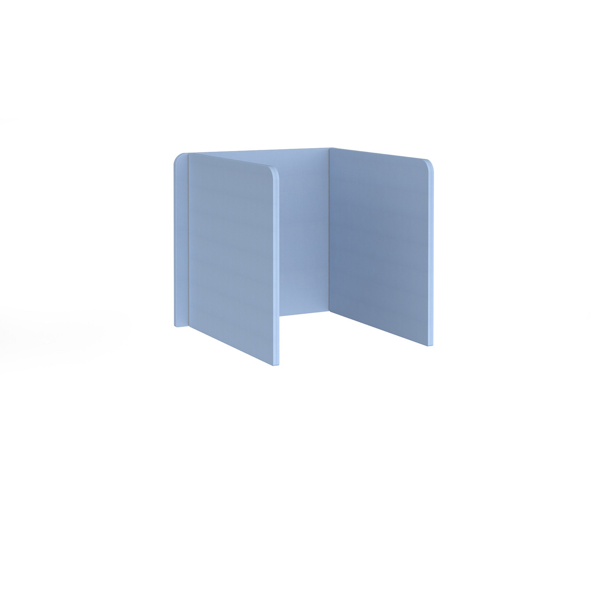 Fabric 3-sided High Screens 785 x 800