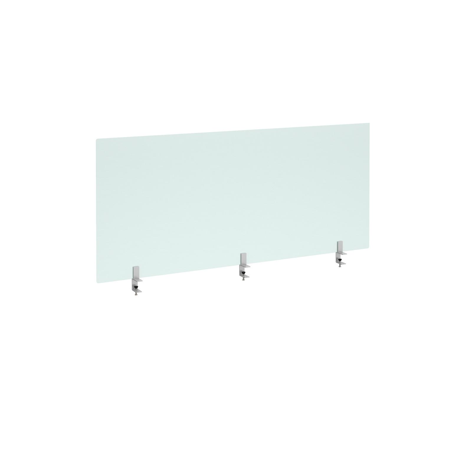 Acrylic Desk Mounted Screen 1600