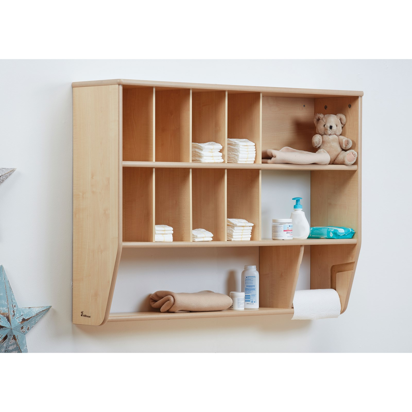 Millhouse Baby Changing Wall Storage Unit