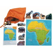 African Animals and Their Continents