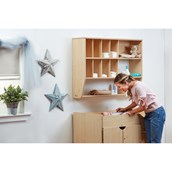 Millhouse Stepped Baby Changing Unit and Wall Storage Unit