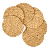 Jute Coasters from Hope Education - Pack of 6