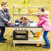 Mobile Outdoor Kitchen