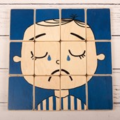 Puzzle Heads - Scared and Sad