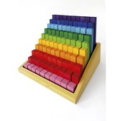 Rainbow Building Steps