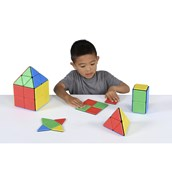 Solid Magnetic Polydron Class Set