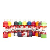 Scola Artmix Ready Mixed Paint - 600ml - Assorted - Pack of 20
