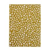 Animal Pattern Rug - Mustard