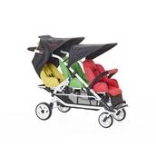 Lightweight 3 Seater Stroller