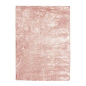 Rect Soft And Shimmer Washable Rug Pink