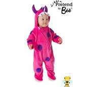 Pink Monster All in One Dress Up 18-24 Months