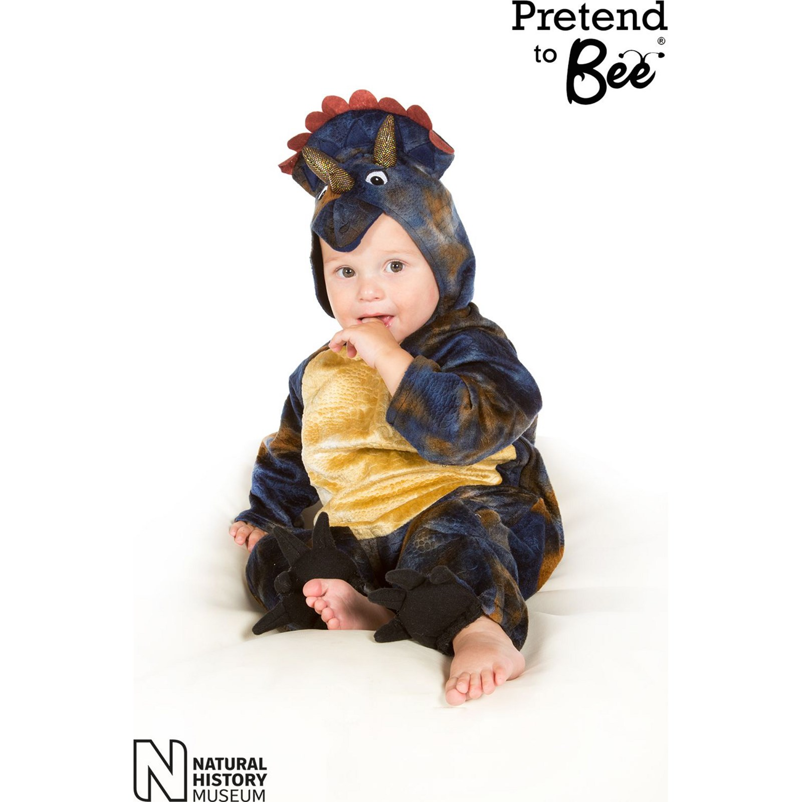 Triceratops All in One Dress Up 2-3 YEars