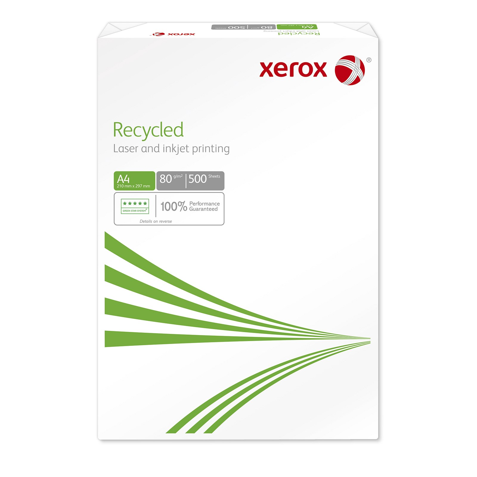 Xerox A4 Recycled Copier Paper - 10 Reams