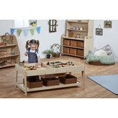 Invest Play Table with 4 Shallow Baskets