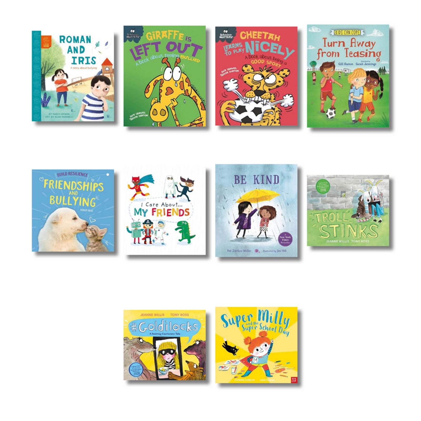 PSHE Story Books for Key Stage 1