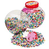 Hama Beads and Pegboards Tub - Red