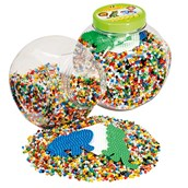 Hama Beads and Pegboards Tub - Green