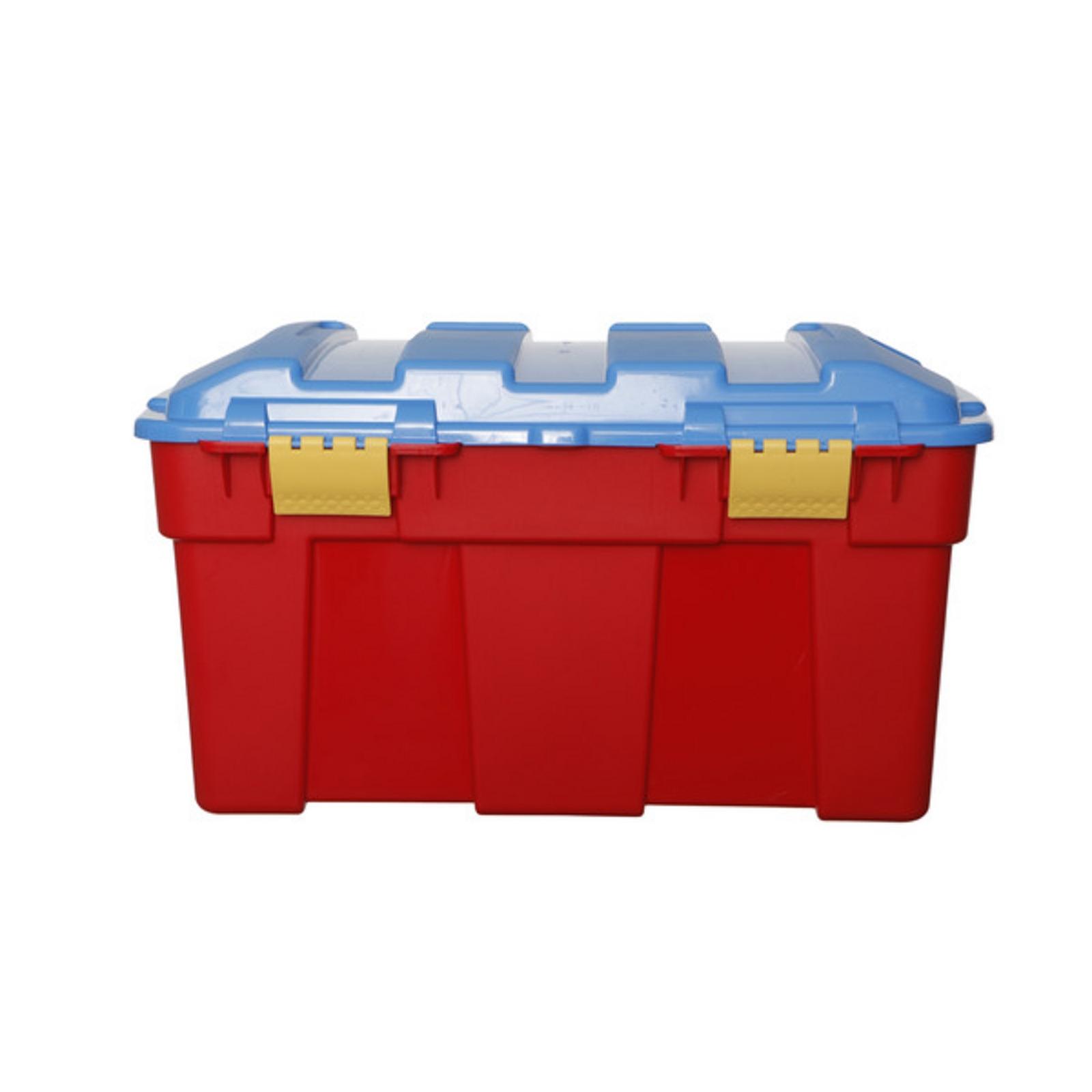 40L Red & Blue Trunk