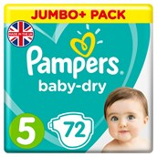 Pampers Baby Dry Size 5 72 Pack
