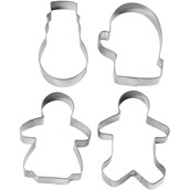 Christmas Cookie Cutters - Set 2