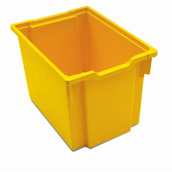 Gratnells Jumbo Storage Tray - Yellow - G240064 | GLS Educational Supplies