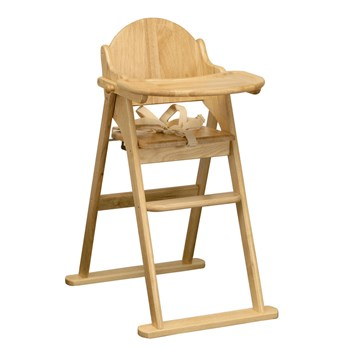 Enjoyable Folding Wooden High Chair Evergreenethics Interior Chair Design Evergreenethicsorg