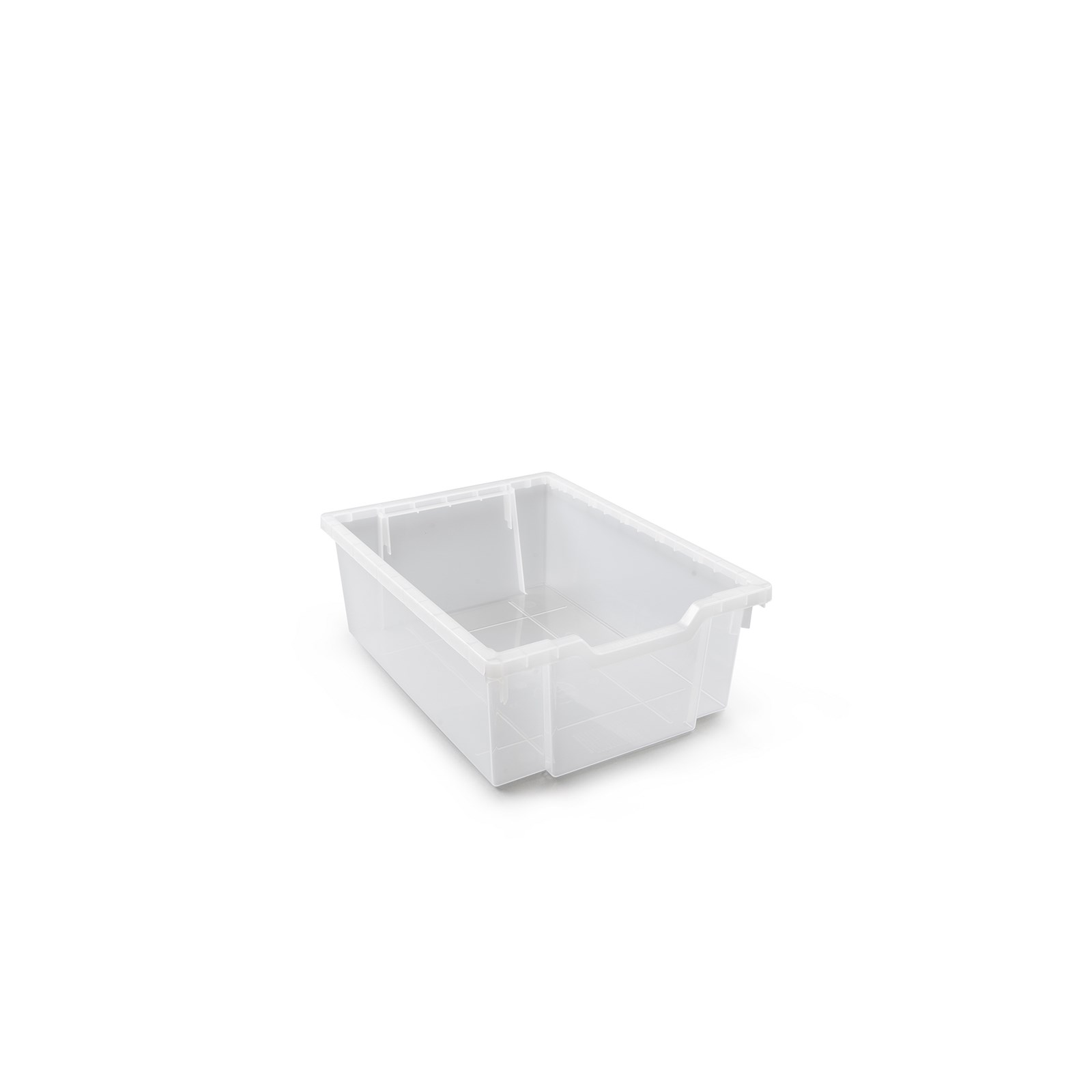 Gratnells Deep Antimicrobial Tray Translucent