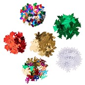 Christmas Sequins Pack of 6