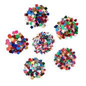 Collage Jars Pack of 6