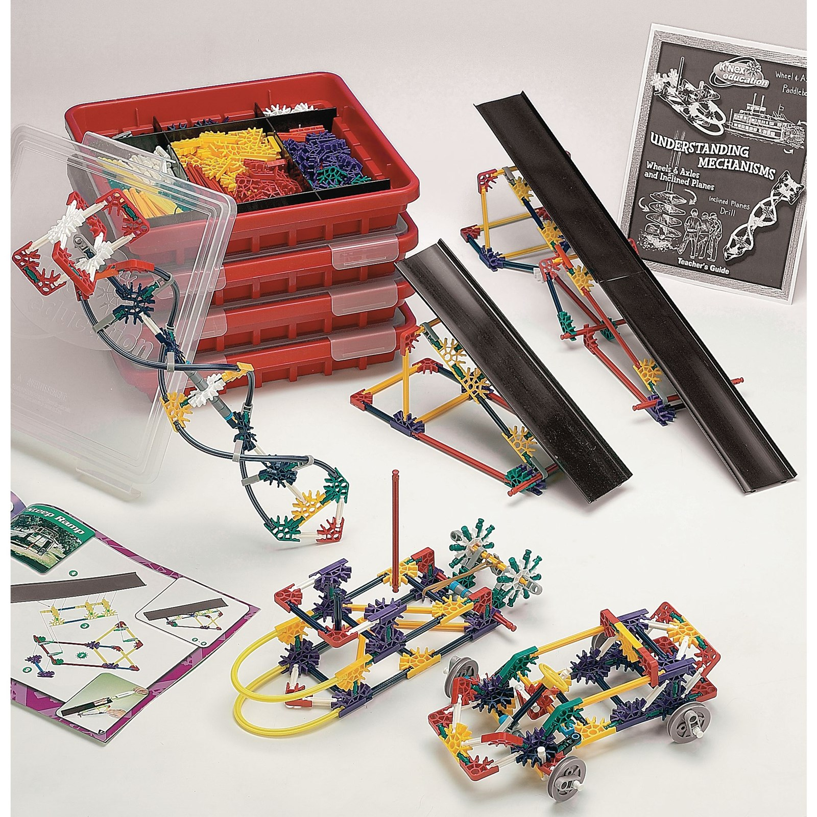 K'Nex® Exploring Wheels, Axles And Inclined Planes
