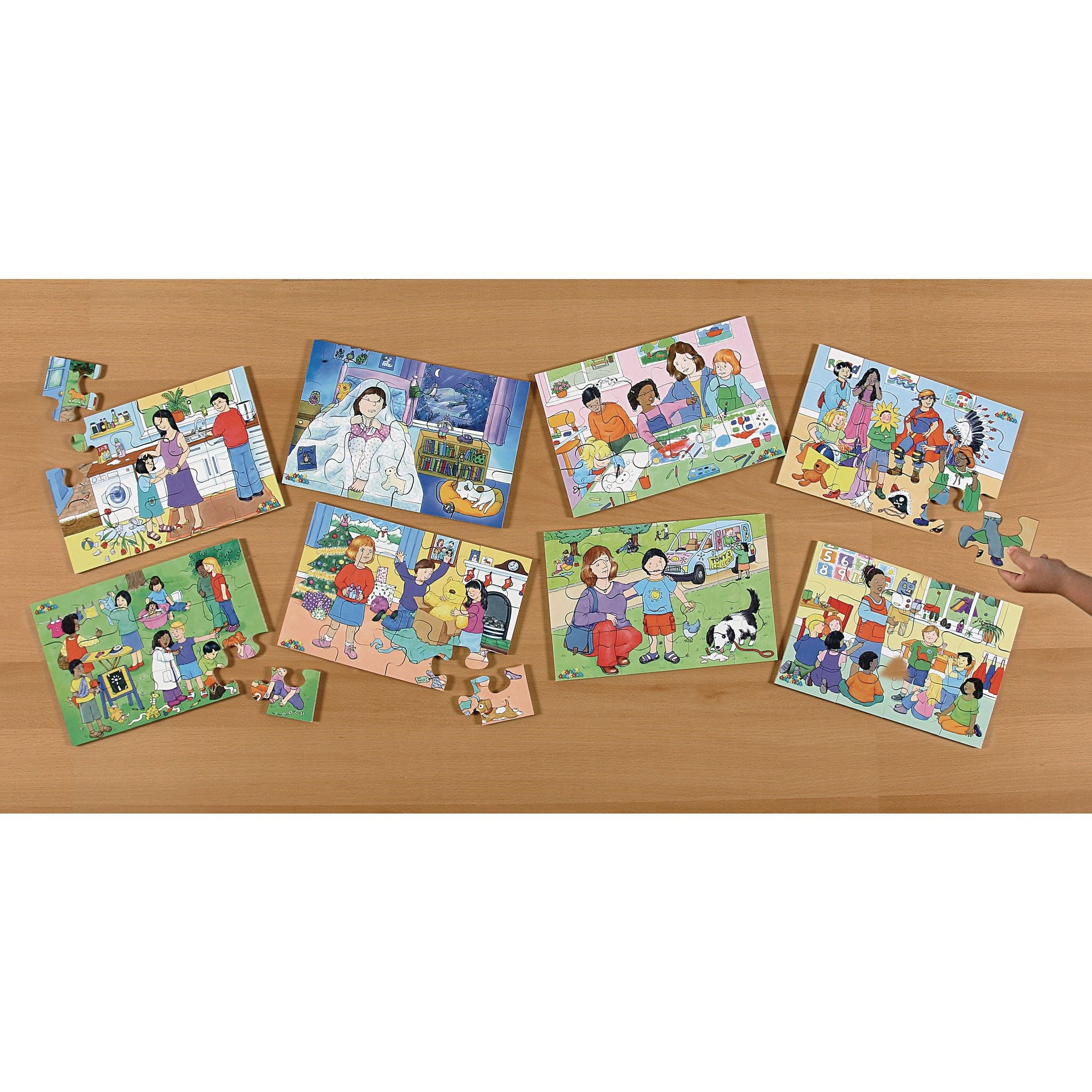 Showing Emotions Puzzles Pk8